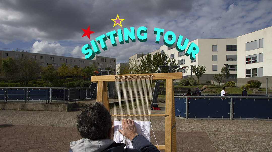 Sitting Tour - Portrait habitants - résidence de création - art participatif - les mureaux, Mantes-la-Jolie, Chanteloup-les-Vignes - viviane rabaud - tugdual de bonviller